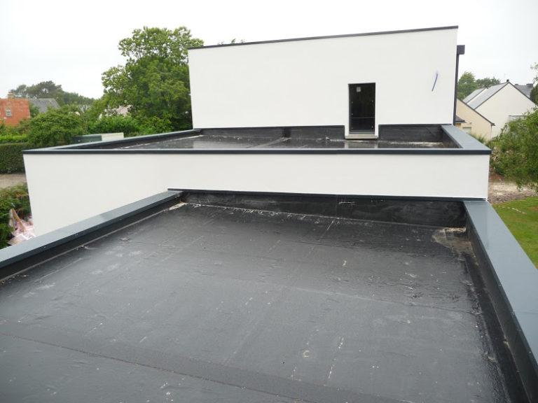 Réalisation : Étanchéité d'un toit plat à Nantes